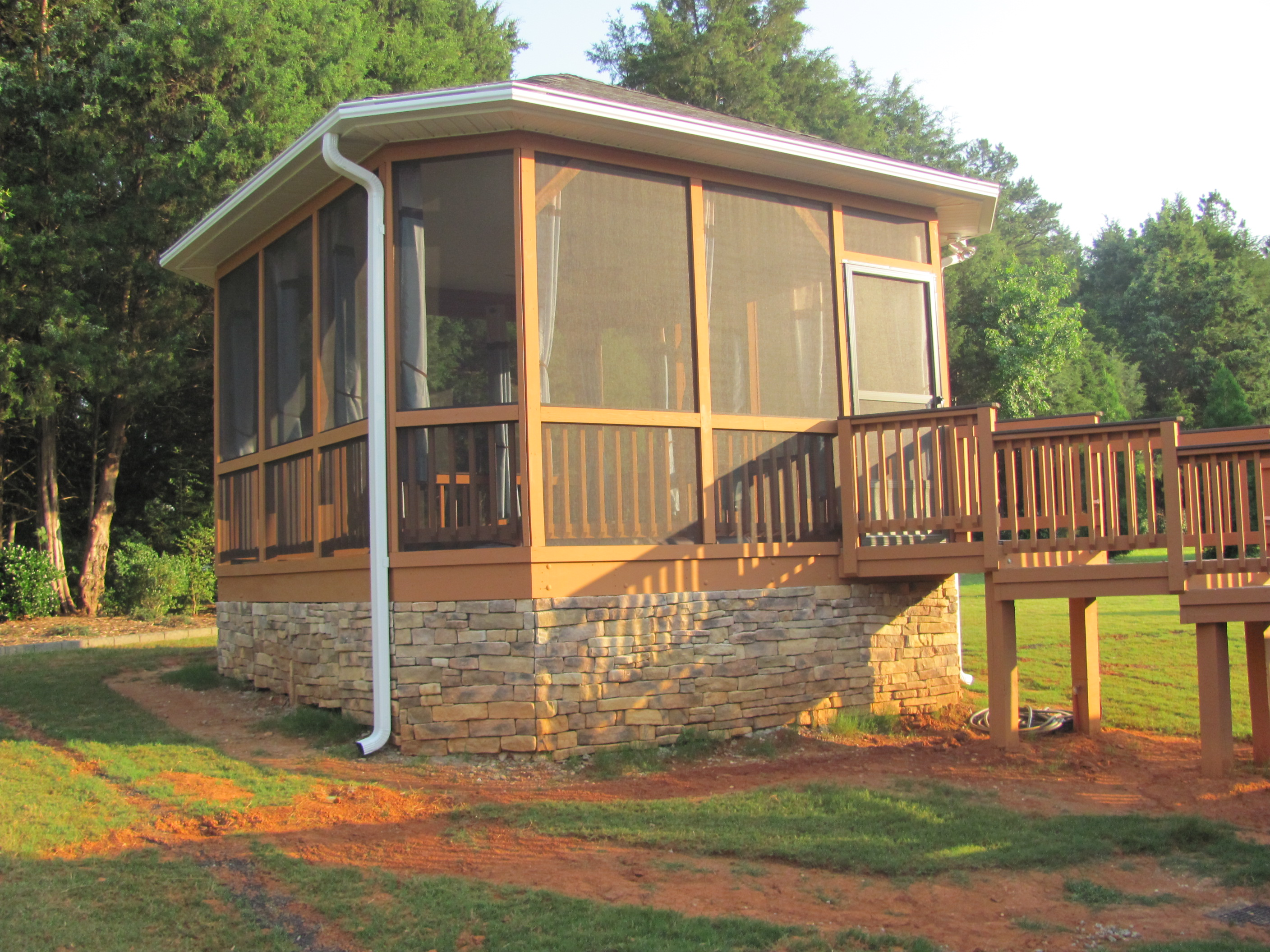 deck designs   Archadeck of Charlotte on Patio Enclosures Ideas  id=22091
