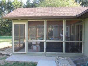 Deck to Screened porch conversions Columbus OH - Columbus ... on Closed Patio Design id=19737
