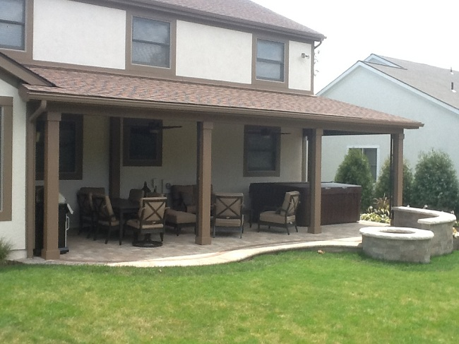 A new open porch, patio, and fire pit in Gahanna OH by ... on Open Backyard Ideas id=95006