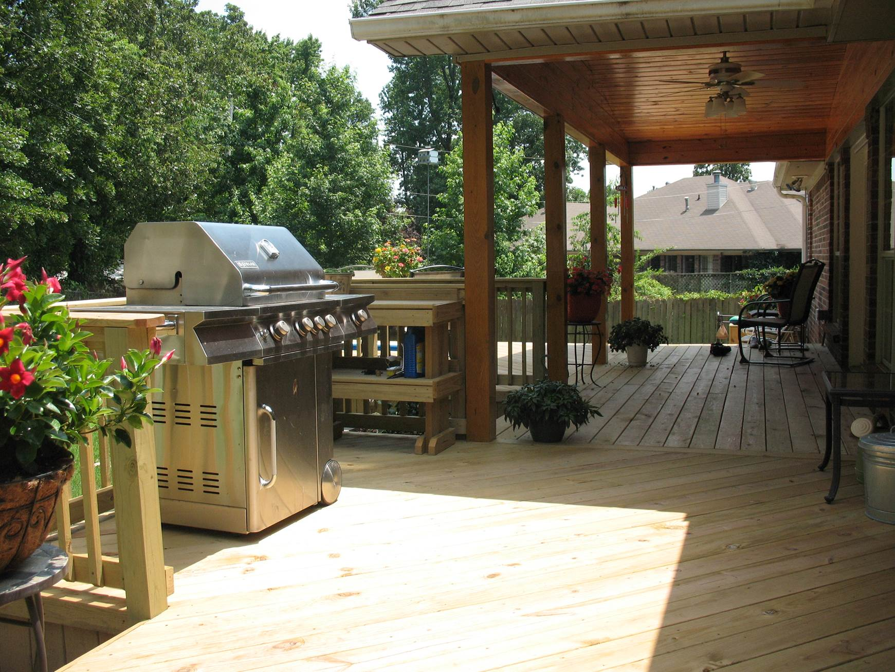 St. Louis Mo: Grill Decks vs Outdoor Kitchens by Archadeck ... on Patio Grilling Area  id=86982