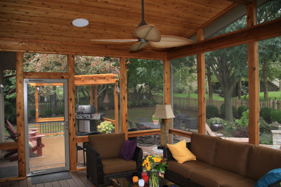 St. Louis Mo: Screened in decks and patios by Archadeck ... on Inclosed Patio Ideas  id=13099