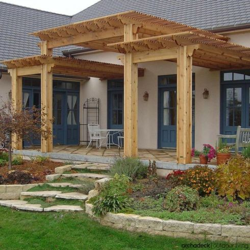 Pergola Design Ideas for Every Outdoor Space by Archadeck ... on Covered Pergola Ideas  id=48797