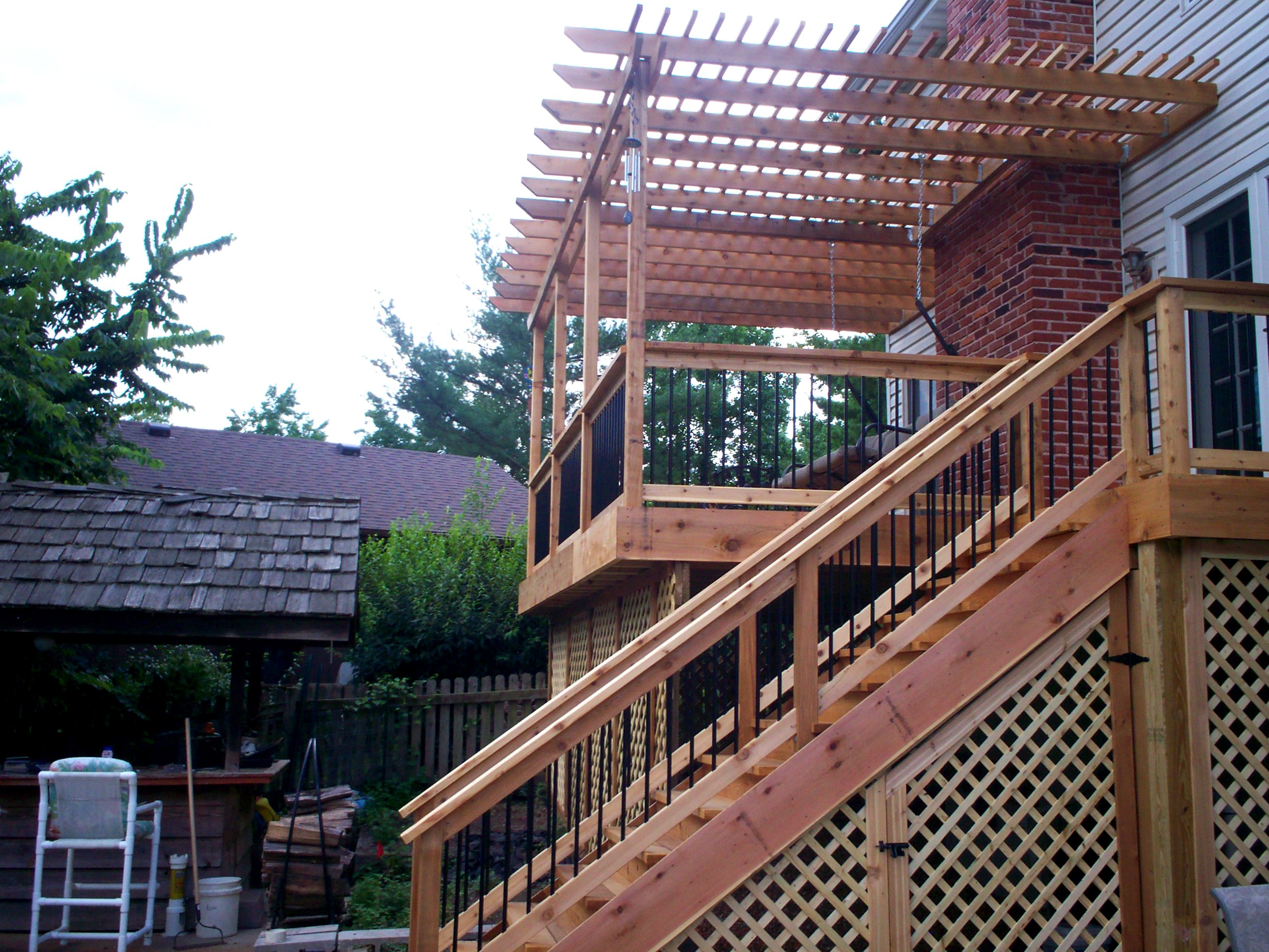 Raised Decks Elevated To A Whole New Level By Archadeck