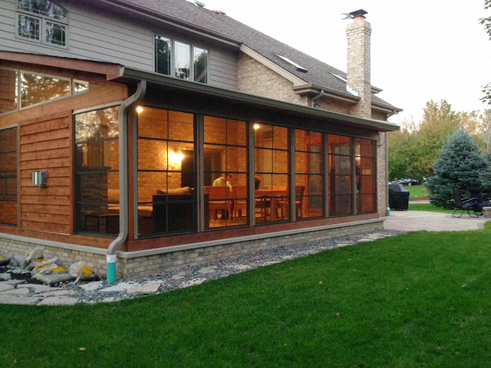 St. Louis Screened Porches: Your Backyard Is A Blank ... on Closed Patio Design id=64410