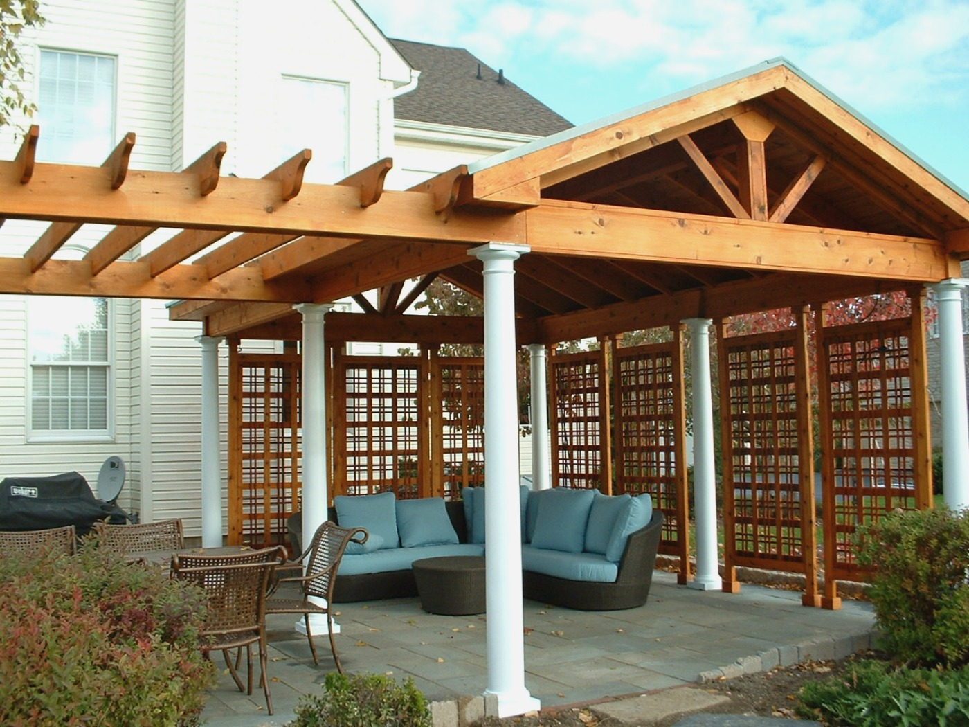 How To Cover Your Deck, Patio or Porch for Any Price by ... on Covered Back Deck Designs id=52301