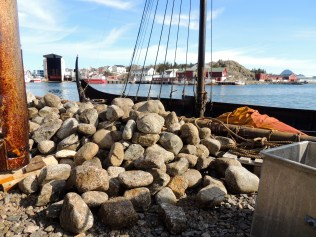 Ballast Stones by the Ship