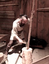 Bowmaking in the Chieftain's Longhouse, Northern Norway