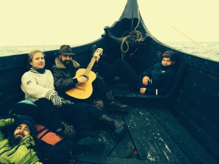 Getting ready to sail, Lofoten Norway