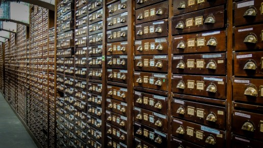 The Archive Room beneath the National Museum of Ireland