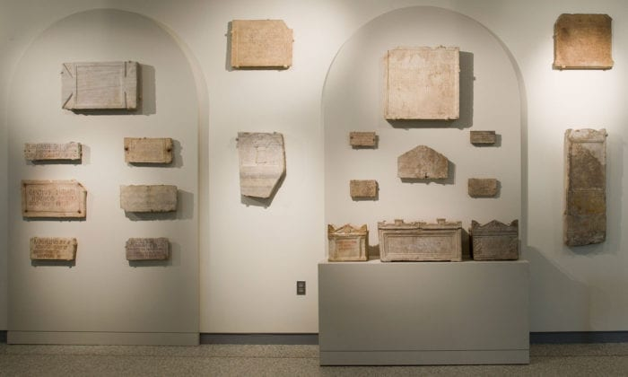 Latin Funerary Inscriptions Johns Hopkins Archaeological
