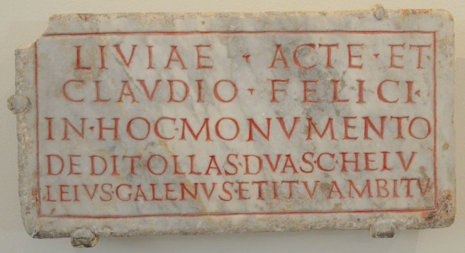 Image result for roman epitaph