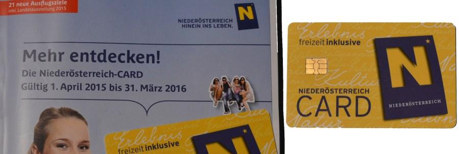 NÖ-Card – Urlaub für Zwischendurch