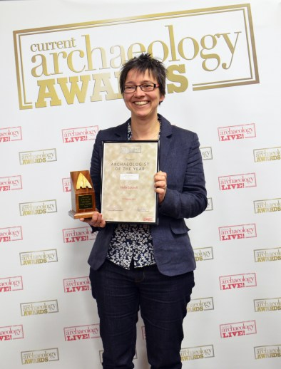 Hella Eckardt, the Archaeologist for the Year 2018 [Photo Credit: Current Archaeology]