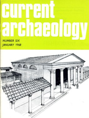 Cover of CA 6, featuring Fishbourne Roman Villa