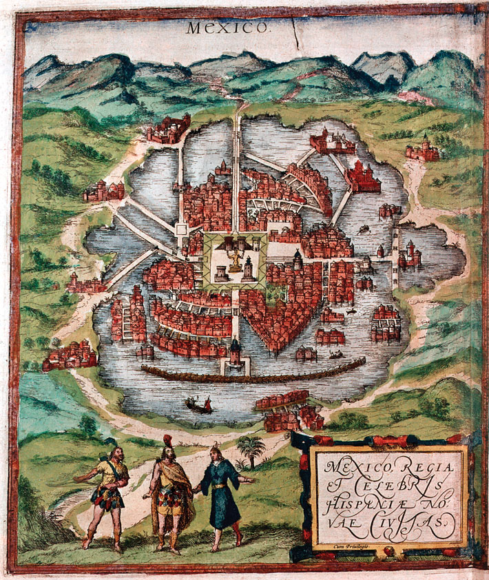 Mexico-City-1524-Map