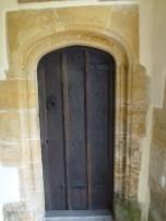 Mallet Inscription Over Doorway