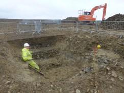 Bronze Age enclosure ditch, site 6