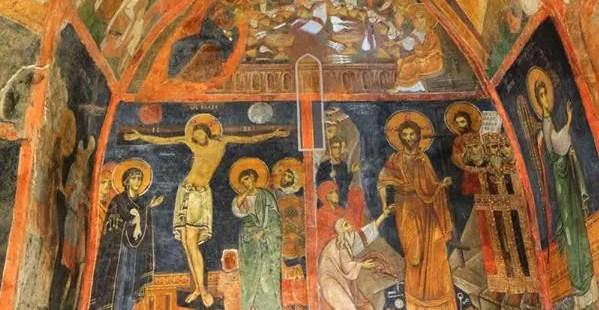 Bulgaria's Early Renaissance Boyana Church Has the Most Impressive Crucifixion Mural, Curator Says