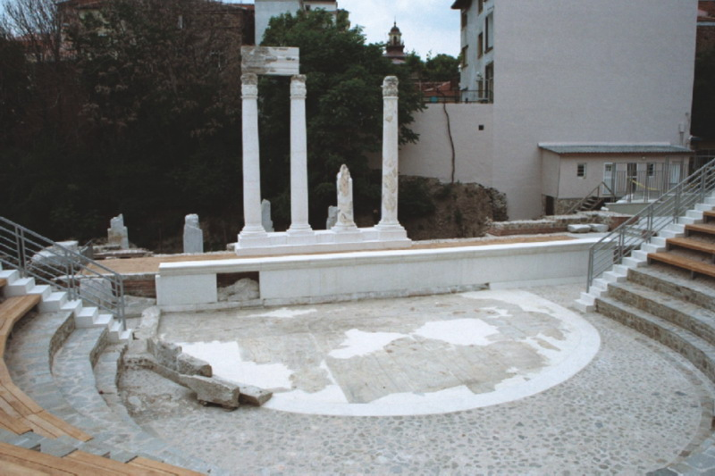 Bulgaria's Plovdiv to Start Restoration of Antiquity Odeon Linking It with Ancient Theater, Roman Stadium