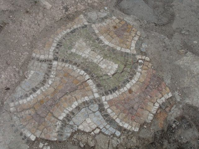 Unique Early Christian floor mosaics have been re-excavated by Bulgarian archaeologists working on the restoration of the 5th century AD Great Basilica in Plovdiv. Photo: Plovdiv24