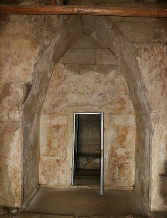 The entrance of the Helvetia Tomb, a 5th century AD Ancient Thracian burial mound (tumulus) near Bulgaria's Shipka, Kazanlak Municipality. Photo: Kazanlak Municipality