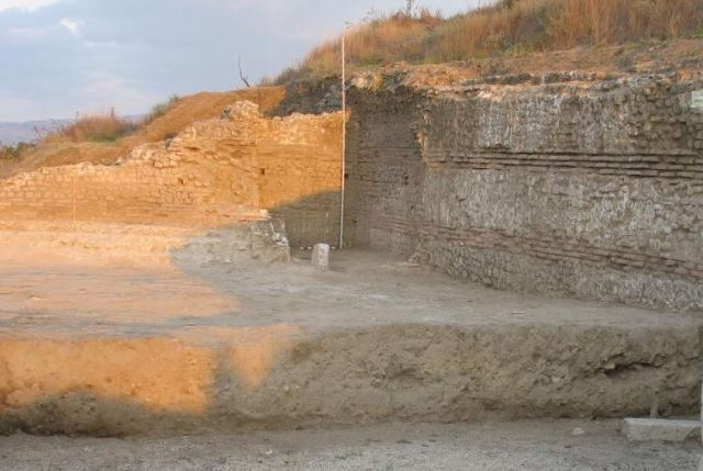 A view of the ruins of Ancient Thracian, Greek, and Roman city of Heraclea Sintica located near Bulgaria's Petrich. Photo: National Institute and Museum of Archaeology