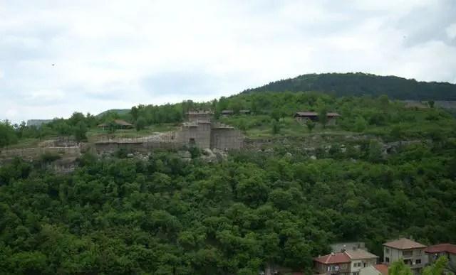 The Trapesitsa Hill, one of the two inner city citadels of Tarnovgrad (today's Veliko Tarnovo), capital of the Second Bulgarian Empire. Photo: Veliko-Tarnovo.net