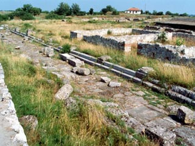 The ruins of the Ancient Thracian, Roman, and Byzantine city Ulpia Oescus in Bulgaria's Gigen, one of the largest Roman cities on the Balkan Peninsula. Photo: Pleven Regional Museum of History