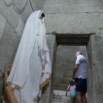 Questionable Plastic Figure Disturbs Visitors at Ancient Thracian Tomb in Bulgaria's Mezek