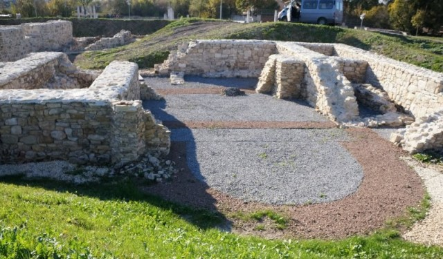 Partly restored ruins of an Early Christian complex in the Ancient Roman city of Abritus in the Abritus Archaeological Preserve near Bulgaria's Razgrad. Photo: Abritus Archaeological Preserve