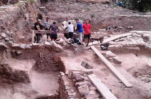 The excavated residence in Sozopol's Old Town was possibly the richest home in Apollonia Pontica; it was first built in the 5th century BC. Photo: 24 Chasa daily