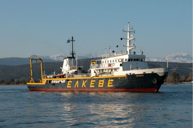 The Greek research vessel Aegaeo has set off on a 30-day voyage in the Bulgarian waters in the Black Sea as part of the international project Black Sea M.A.P. Photo: BlackSeaMAP.com