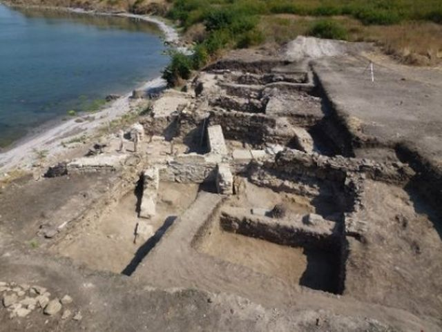 The ruins of the ancient city of Burgos (Poros) on the Black Sea in today's Bulgarian city of Burgas. Photo: Burgas Regional Museum of History