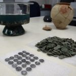 Archaeologists Discover Treasure of Silver Roman Coins during Excavations of Ancient Serdica in Bulgaria's Capital Sofia