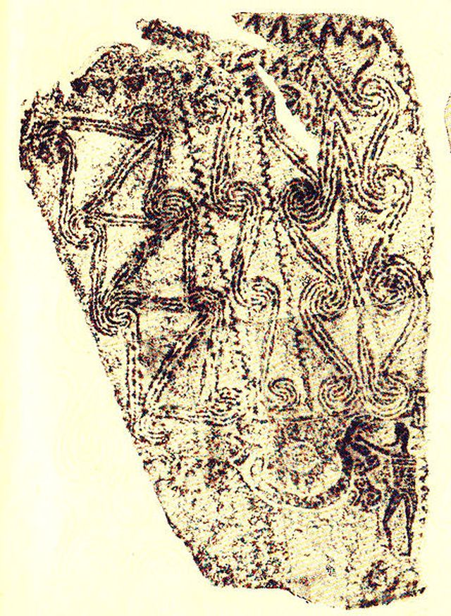 This image shows the relief on one of the original steles from the Thracian shrine in Stolovatets (photo at the beginning of this article shows the same depiction as seen on the newly unveiled stele replica). The images of the sun and the two-headed snake-like dragon interacting with a man (who sticks his hand in the dragon's mouth) are seen at the bottom of the image. Photo: Ivo Filipov, Wikipedia