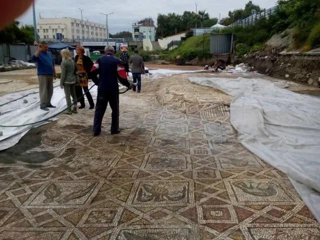 Plovdiv Basilica Mosaics 1-1