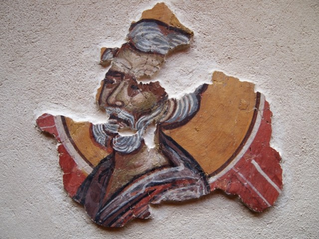 A 14th century fresco from the St. Iliya Church at the Urvich Fortress near Bulgaria's Sofia. Photo: Monitor daily