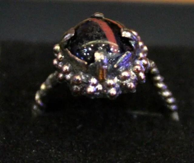 Perperikon Obsidian Ring 3