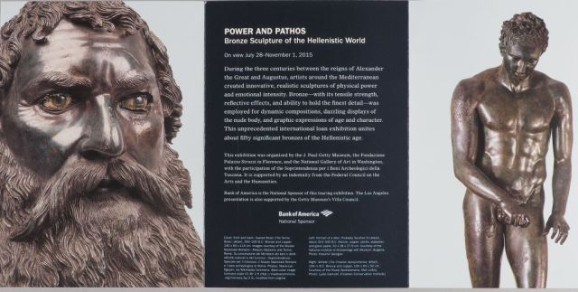 The bronze head of Thracian King Seuthes III advertised as part of the recent exhibition in the J. Paul Getty Museum. Photo: Bulgaria's Ministry of Culture
