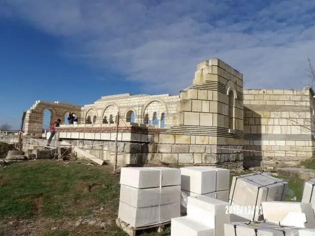 Great Basilica Pliska 2