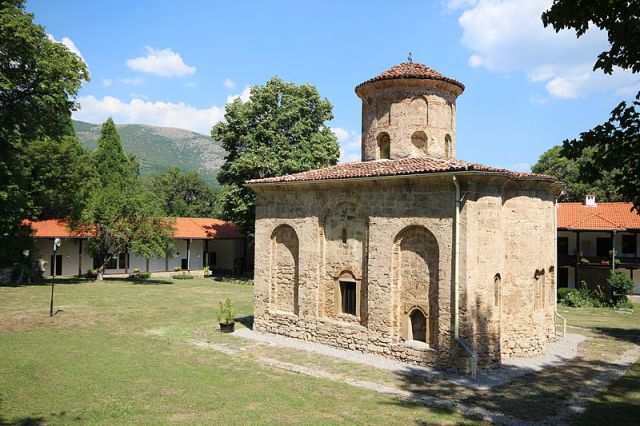 The 11th century monastery St. John the Theologian in Bulgaria's Zemen. Photo: Bollweevil, Wikipedia