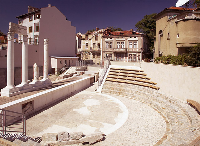 The Antiquity Odeon in the southern Bulgarian city of Plovdiv. Photo: Plovdiv Patent Bureau