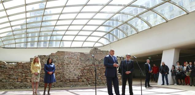 Bulgaria's Capital Sofia Opens Much Criticized Open-Air Museum of Ancient Roman City Serdica