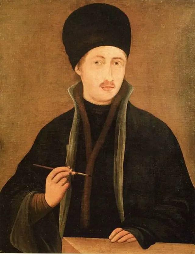 The most famous self-portrait of Zahari Zograf, National Gallery of Art, Sofia. Photo: Yaroslav Blanter, Wikipedia