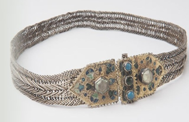 Items from the new exhibit: a A 17th century necklace found near the town of Kopilovtsi, Berkovitsa Municipality, Northwest Bulgaria, from the collection of the National Institute and Museum of History in Sofia. Photo: Krasimir Georgiev, National Institute and Museum of History