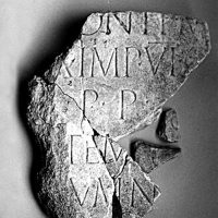 Bridge Construction Inscription of Roman Emperor Trajan Discovered at Ad Radices Road Station near Bulgaria's Troyan