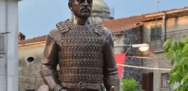 Monument of Ancient Bulgar Leader Altsek Opened in Italy's Celle di Bulgheria to Celebrate Ancient Bulgar Heritage
