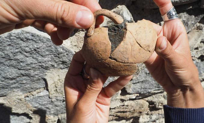 Archaeologists Discover 3,300-Year-Old Vessel near Bulgaria's Razlog Testifying to Thracian Ties with Ancient Mycenae