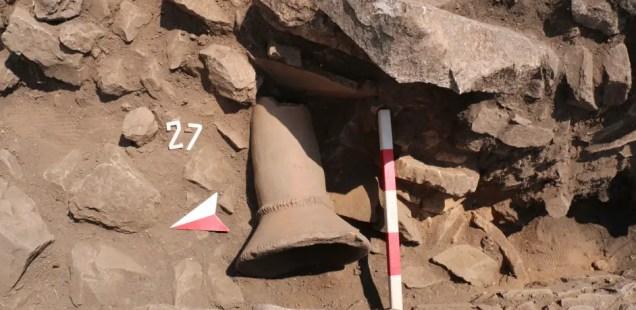 Archaeologists Find 6th Century AD Brazier in Kalyata Fortress near Bulgaria's Yakoruda