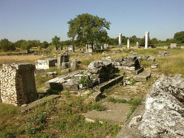 The ruins of the Ancient Roman city of Nicopolis ad Istrum in Central North Bulgaria. Photo: Ministry of Culture